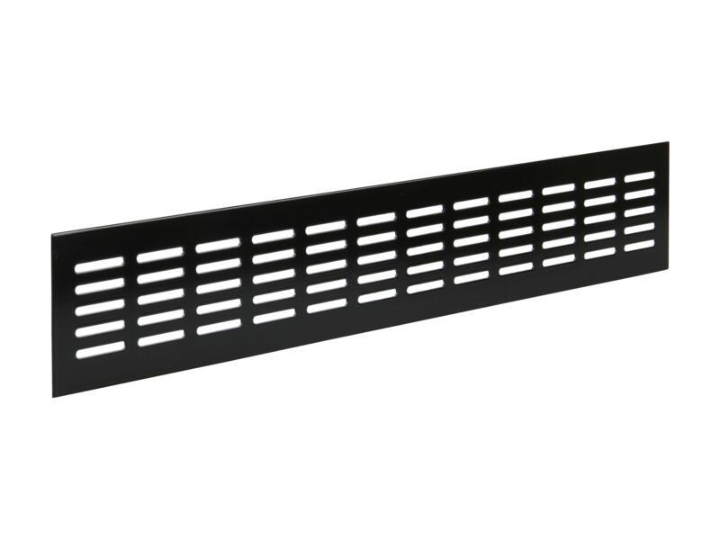 Renson grille d'aération 500x80 mm aluminium brun noir