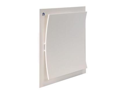Renson grille d'extraction 233x233 mm aluminium blanc