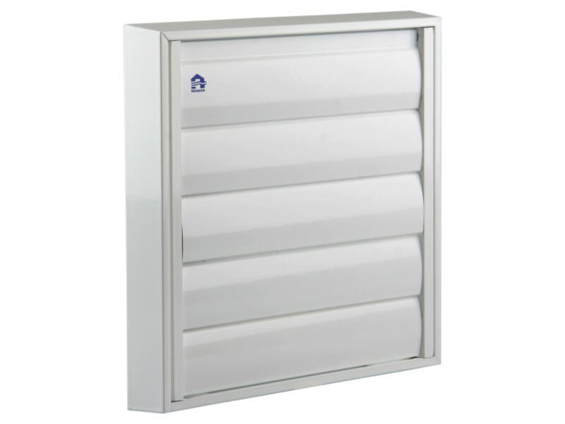 Renson grille de hotte 210x210 mm aluminium blanc