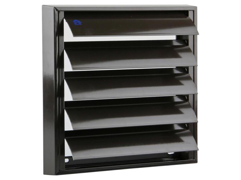Renson grille de hotte 210x210 mm aluminium brun