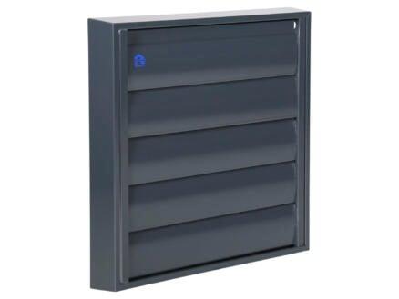 Renson grille de hotte 210x210 mm aluminium gris anthracite