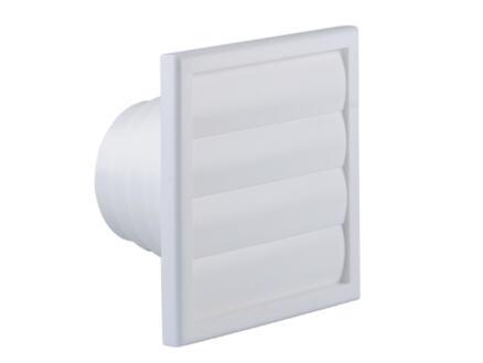 Renson grille de hotte avec réduction 100mm PVC blanc
