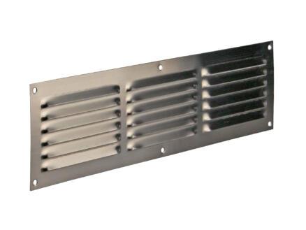 Renson grille estampée 100x400 mm inox