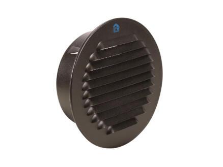 Renson grille estampée 120mm aluminium noir