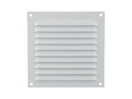 Renson grille estampée 150x150 mm aluminium blanc