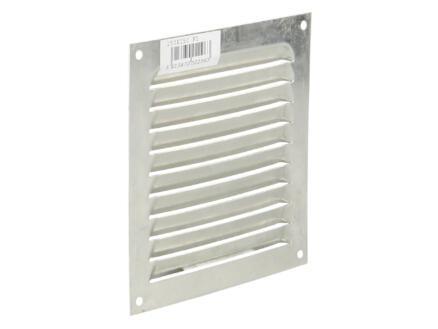 Renson grille estampée 150x150 mm aluminium