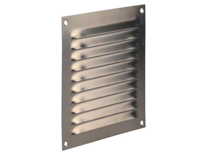 Renson grille estampée 150x150 mm inox
