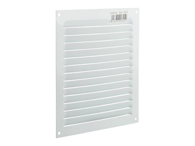 Renson grille estampée 200x200 mm aluminium blanc