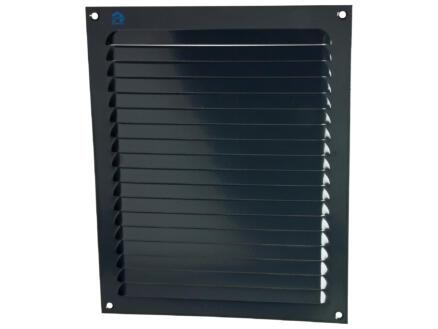 Renson grille estampée 200x250 mm aluminium gris anthracite