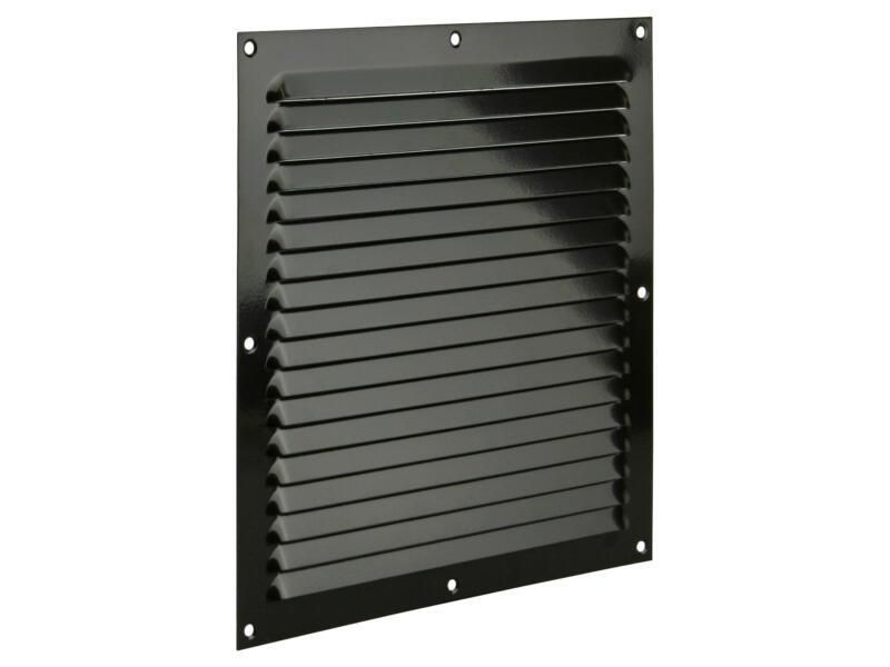 Renson grille estampée 250x250 mm aluminium brun gris