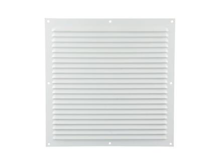 Renson grille estampée 300x300 mm aluminium blanc