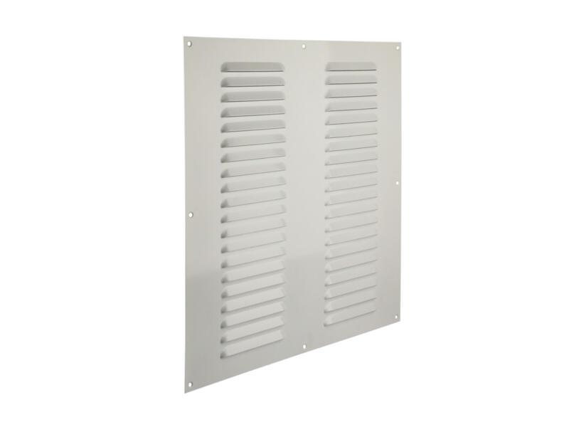 Renson grille estampée 400x400 mm aluminium blanc