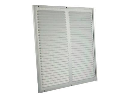 Renson grille estampée 400x400 mm aluminium