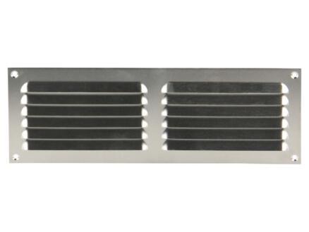 Renson grille estampée à poser 300x100 mm aluminium
