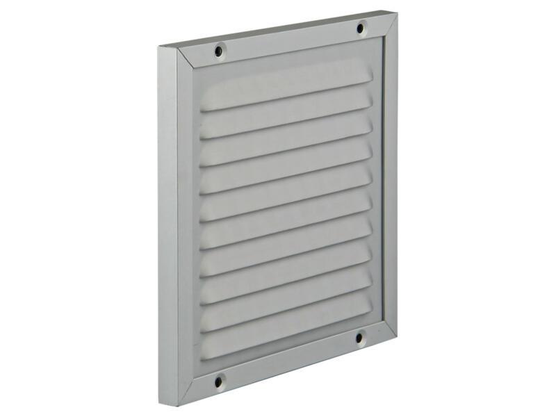 Renson grille estampée avec cadre en applique 150x150 mm aluminium