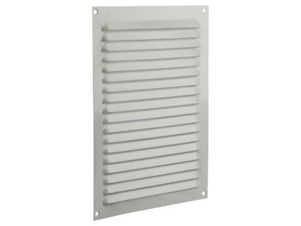 Renson grille estampée plate 200x250 mm aluminium blanc