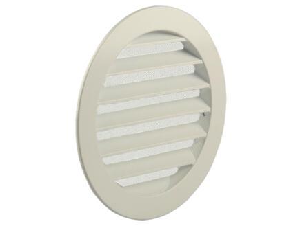Renson grille estampée ronde 150mm aluminium blanc
