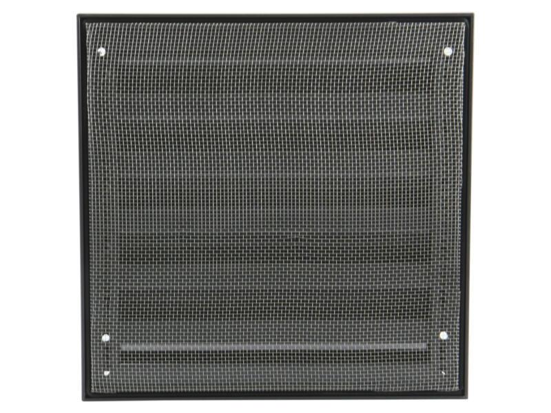 Renson grille murale 225x225 mm aluminium anthracite