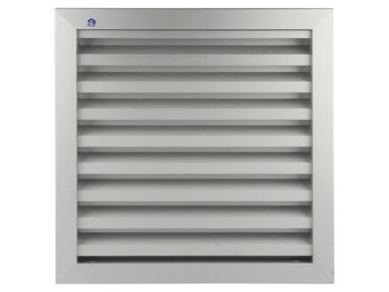 Renson grille murale 300x300 mm aluminium gris