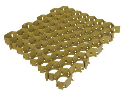 Scala grindtegel 50x50x3,8 cm geel