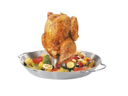 GEFU groentewok en kippenbrader