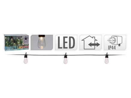 guirlande lumineuse LED 13m blanc chaud