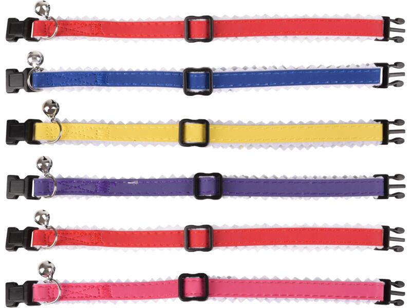 Flamingo halsband kat gevoerd 20/30 cm 10mm beschikbaar in 5 kleuren