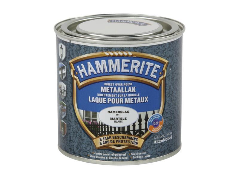 Hammerite hamerslaglak 0,25l wit