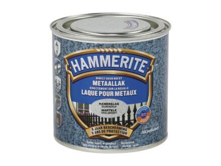 Hammerite hamerslaglak 0,25l zilvergrijs