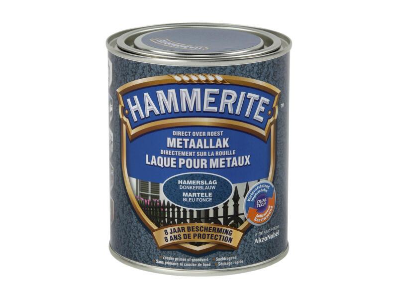 Hammerite hamerslaglak 0,75l donkerblauw