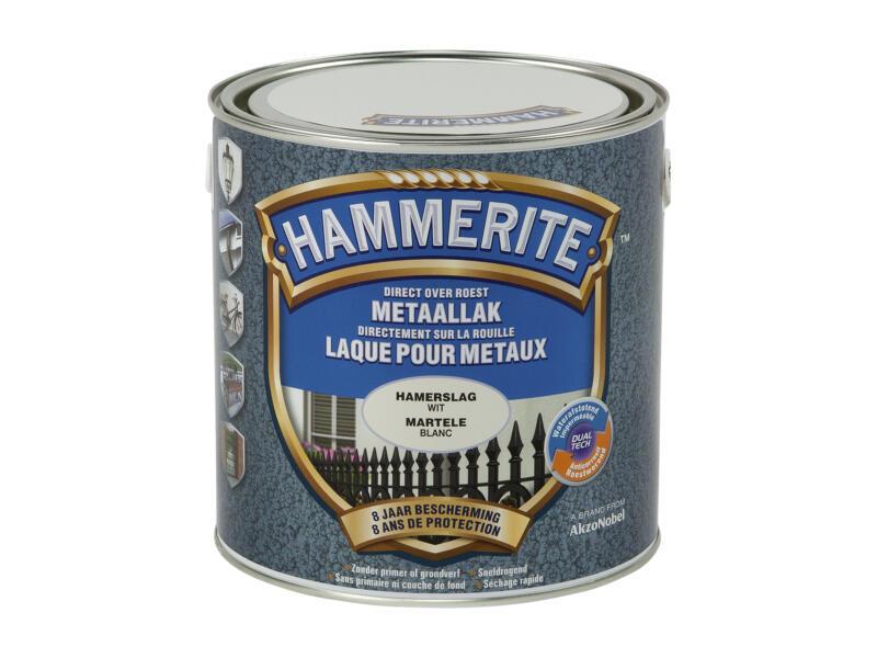Hammerite hamerslaglak 2,5l wit