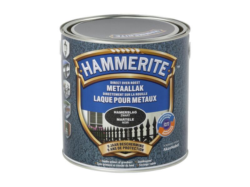 Hammerite hamerslaglak 2,5l zwart