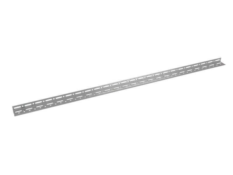 Practo Home hoekprofiel 1,5m 55x32mm staal