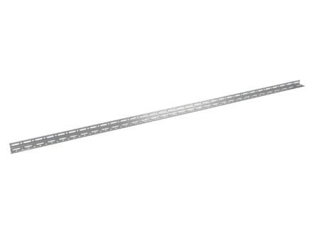 Practo Home hoekprofiel 2m 55x32mm staal