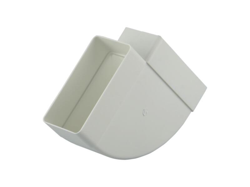 Renson hoekverbinding 90° horizontaal type 7016 110x55 mm wit