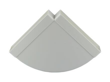 Renson hoekverbinding 90° horizontaal type 7016 204x60 mm wit
