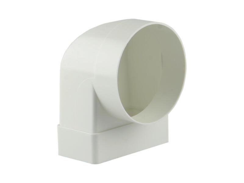 Renson hoekverbinding 90° type 7017 100mm wit