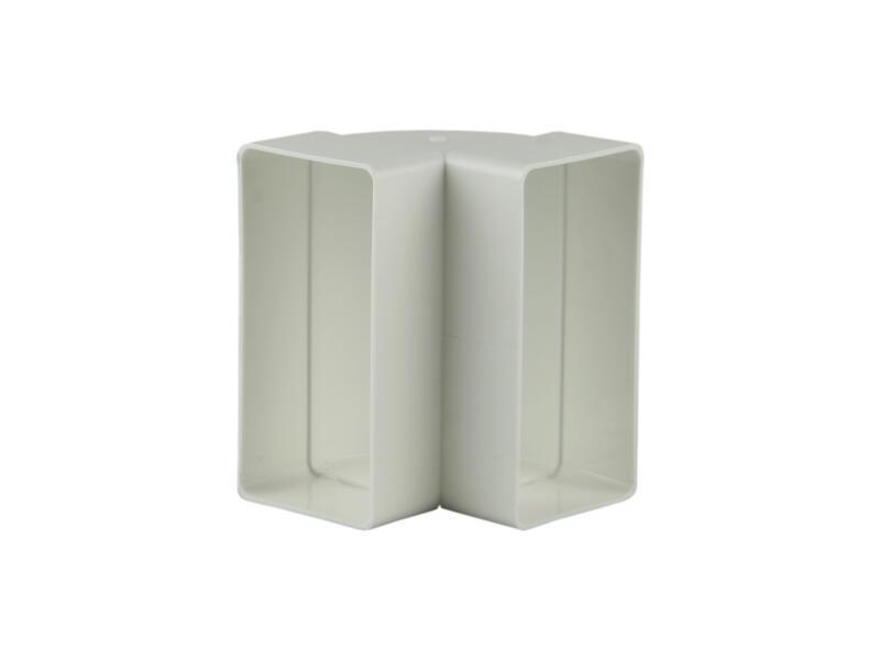 Renson hoekverbinding 90° verticaal type 7015 110x55 mm wit