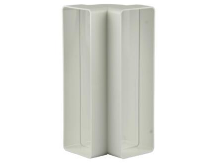 Renson hoekverbinding 90° verticaal type 7015 204x60 mm wit