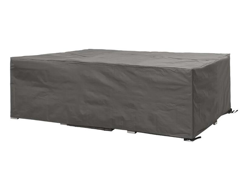 Perel hoes voor L-vormige loungeset 300x300x75 cm grijs