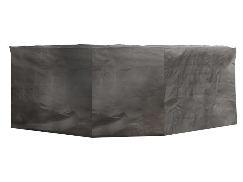 Perel hoes voor achthoekige tuinset 220x220x95 cm grijs