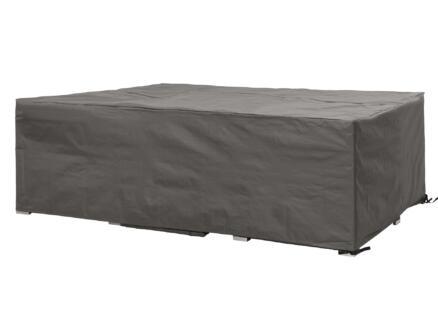 Perel hoes voor loungeset 260x200x80 cm grijs