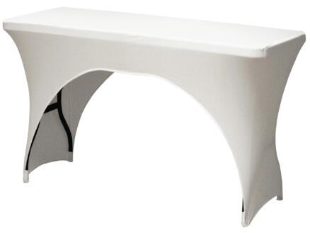 Toolland hoes voor tuintafel 183x76x74 cm wit