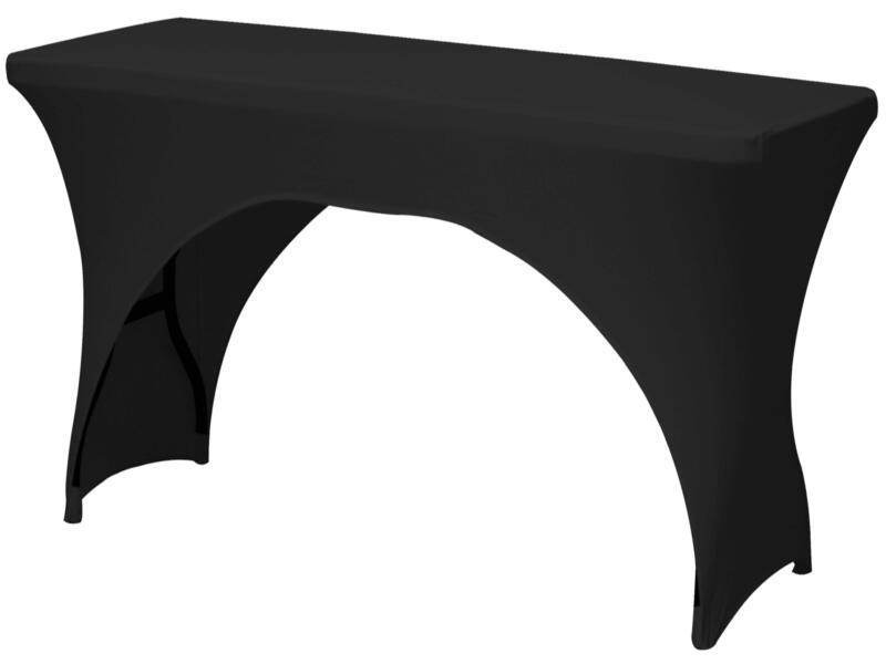 Toolland hoes voor tuintafel 183x76x74 cm zwart
