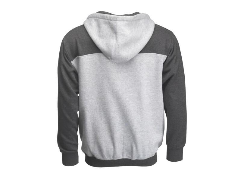 JCB hoodie XL grijs