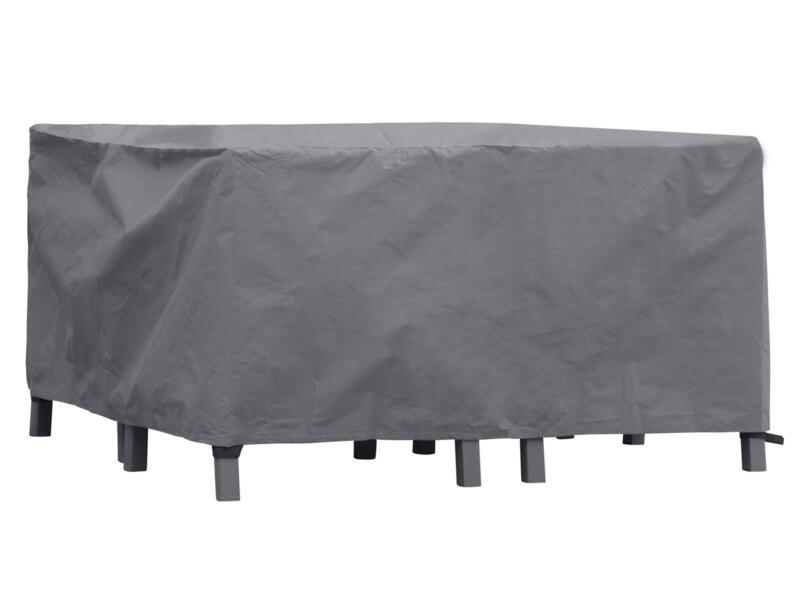 Perel housse pour salon de jardin XS 140x140x70 cm gris