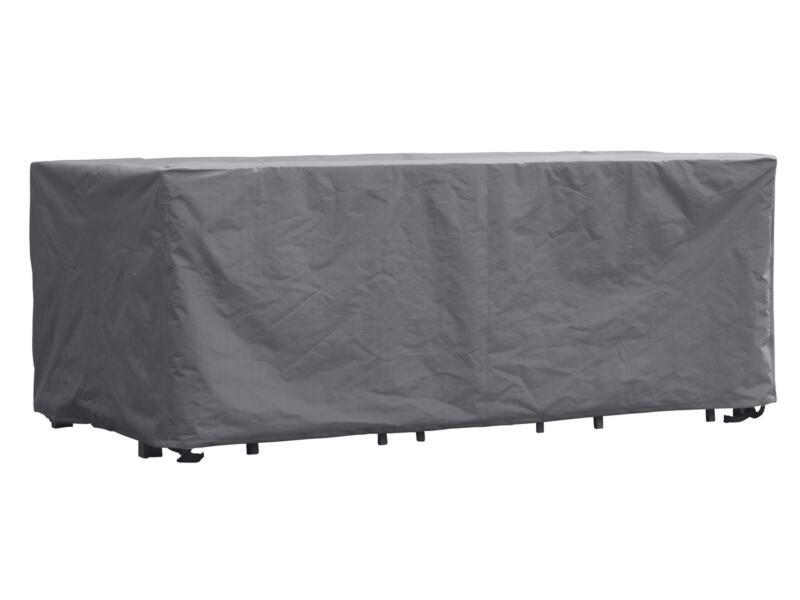 Perel housse rectangulaire pour salon de jardin XL 285x180x95 cm gris
