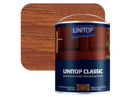 Linitop houtbeits 2,5l teak #282