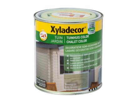Xyladecor houtbeits tuin color 1l nevelgrijs