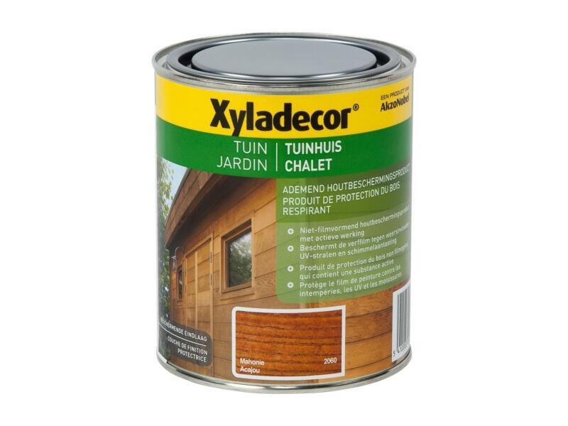 Xyladecor houtbeits tuinhuis 0,75l mahonie